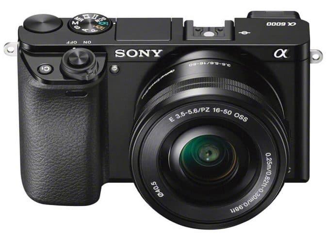 Sony Alpha a6000 Mirrorless Digital Camera