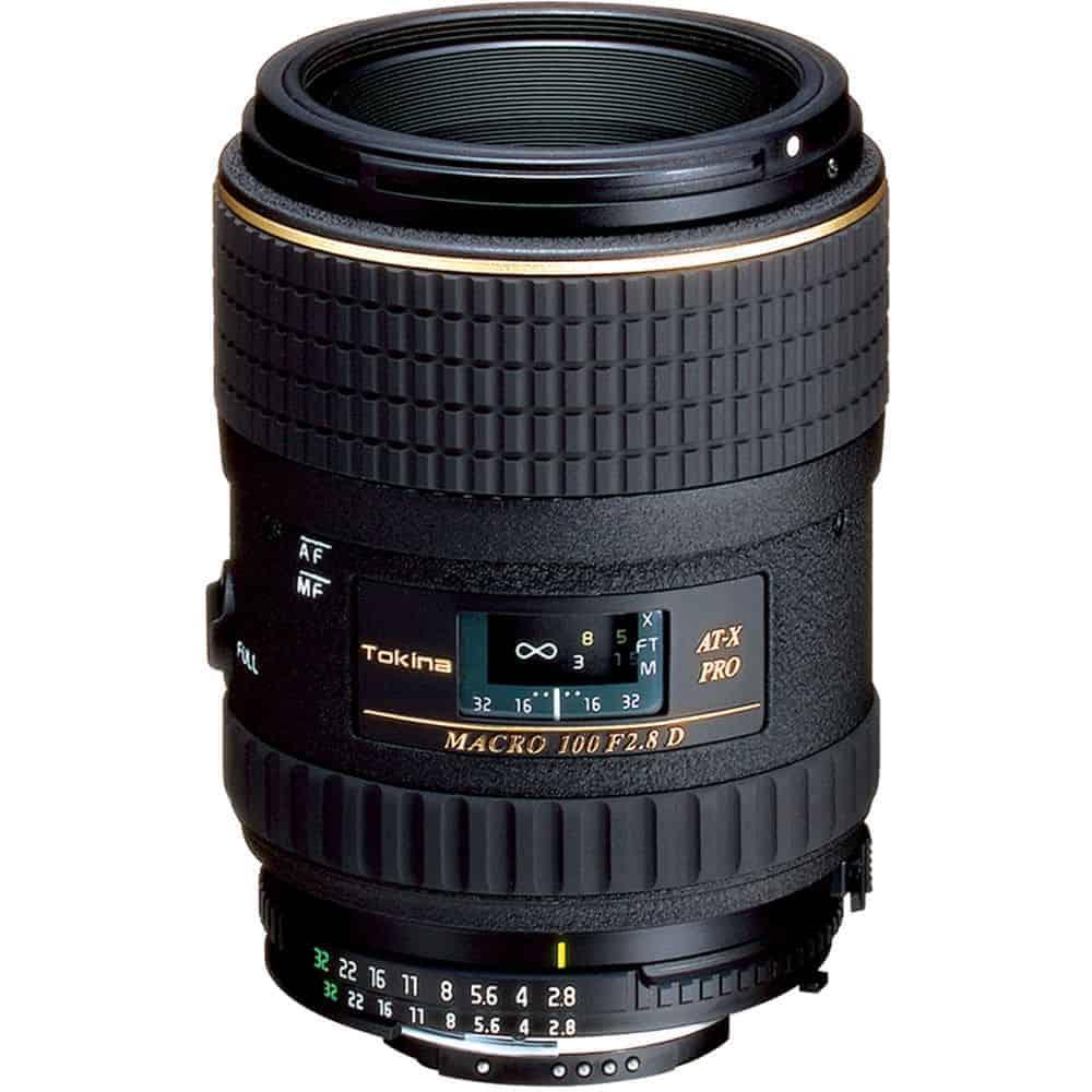 Tokina 100mm f2.8 AT-X M100 AF Pro D Macro Autofocus Lens