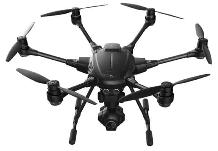 Also Great for Real Estate Photography: the Yuneec Typhoon H Pro with Intel RealSense Technology - 4K Collision Avoidance Hexacopter Drone