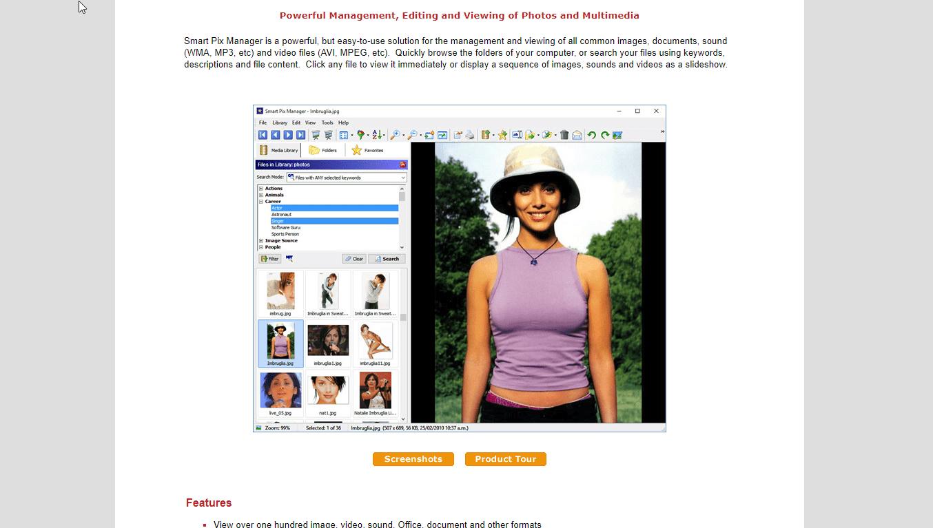 SmartPix Photo Manager