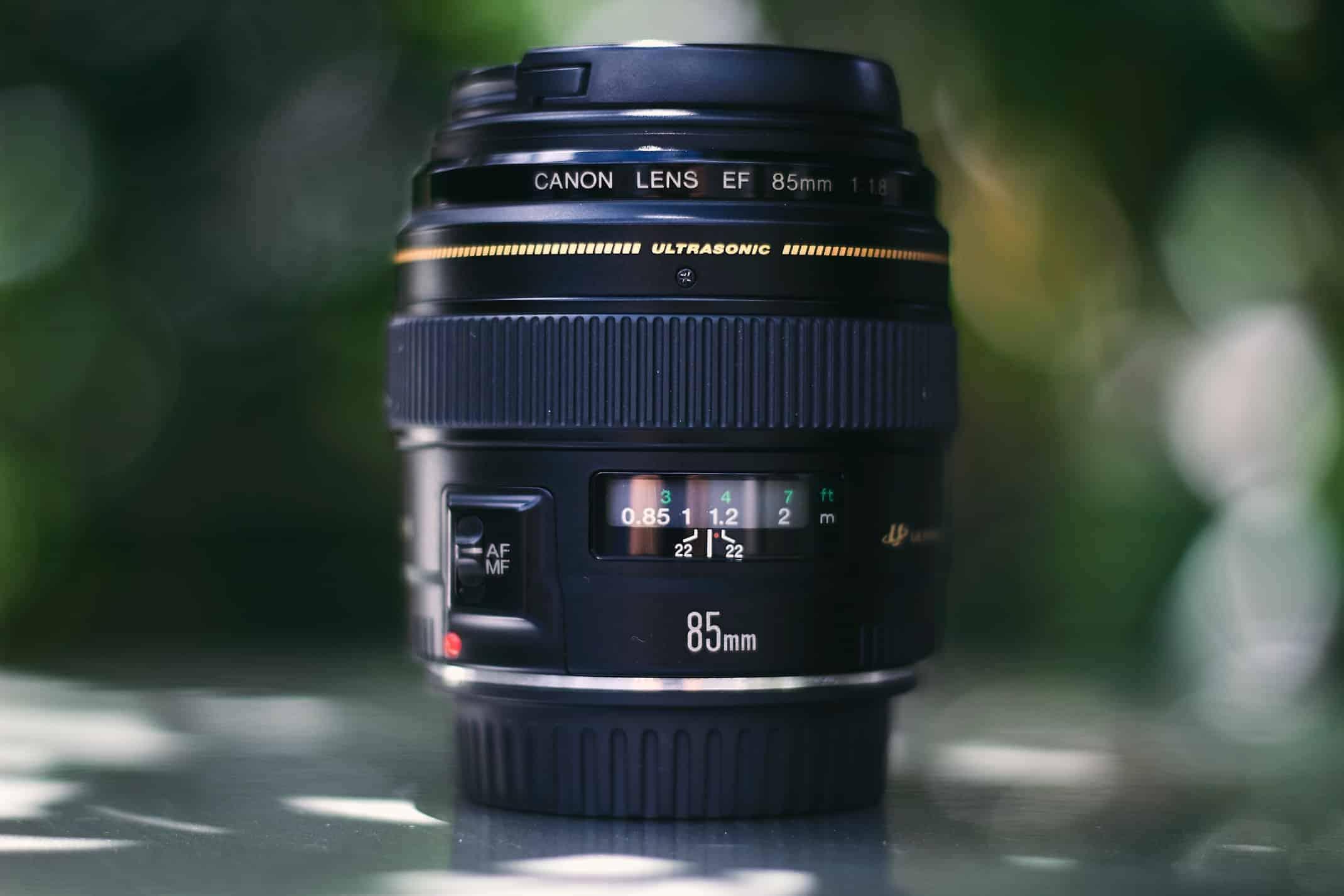 Best Canon Lenses for Beginners (85mm f1.8 Canon EF Lens)
