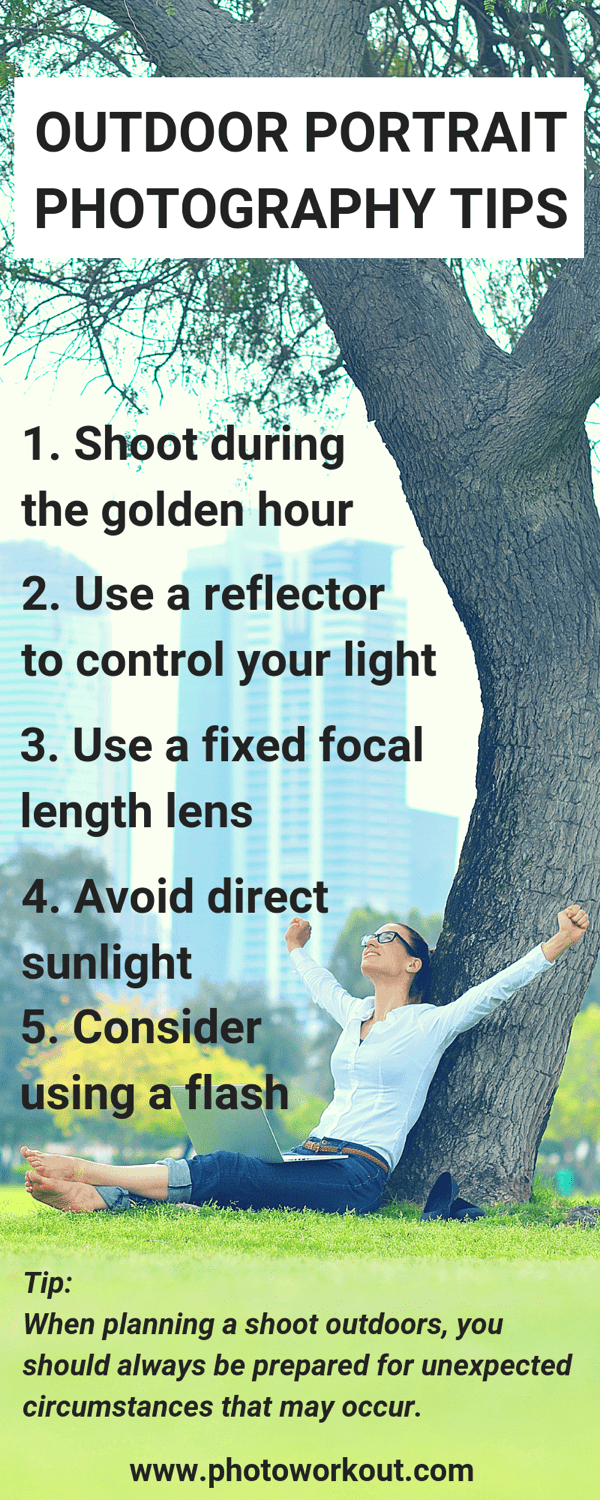 Outdoor Photography Tips: Infographic