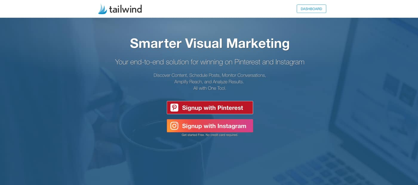 Tailwind - Smarter Visual Marketing to Win on Pinterest and Instagram (Desktop and Mobile App)