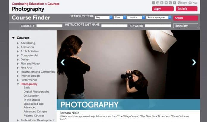 Free Online Photography Course by the School of Visual Arts