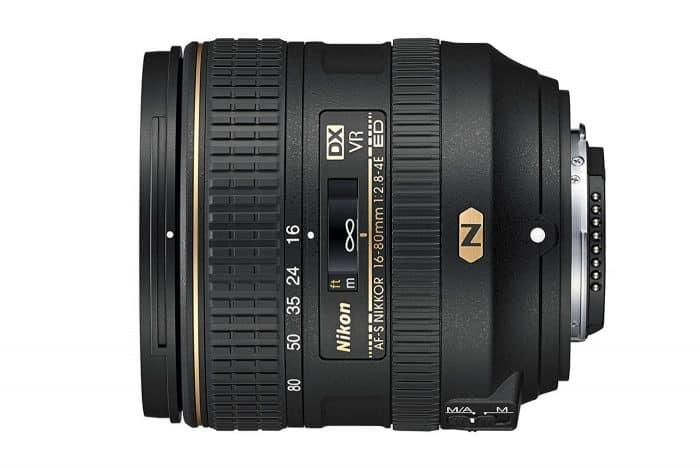 Nikon AF-S DX NIKKOR 16-80mm f/2.8-4