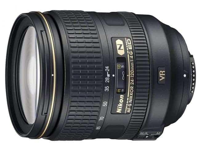 Nikon AF-S FX NIKKOR 24-120mm f/4G