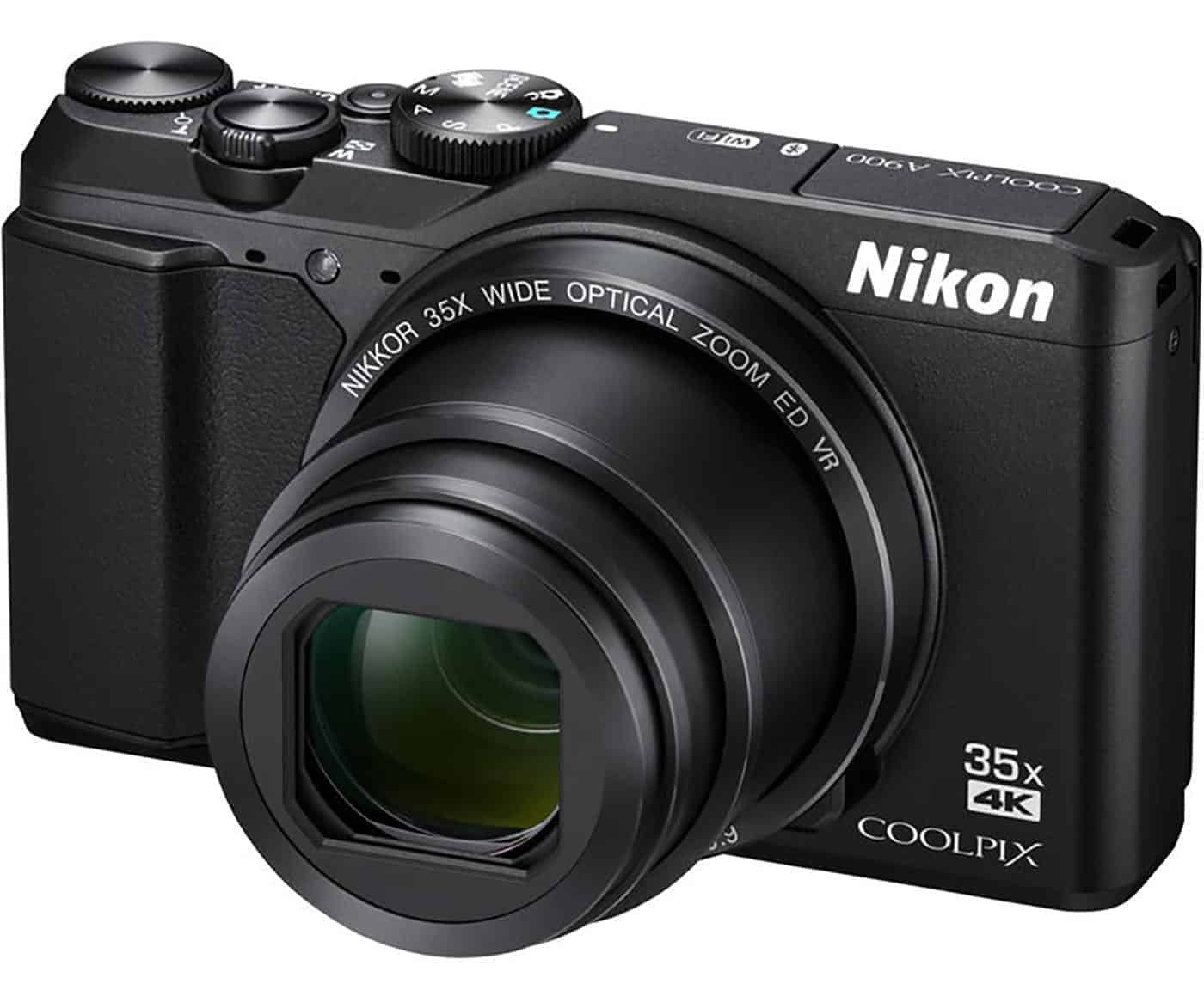 One of the best compact cameras under $300: the Nikon CoolPix A900
