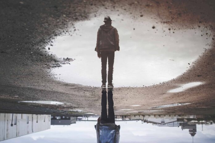 Rflection - a way to create a forced perspective | Image by Randy Jacob