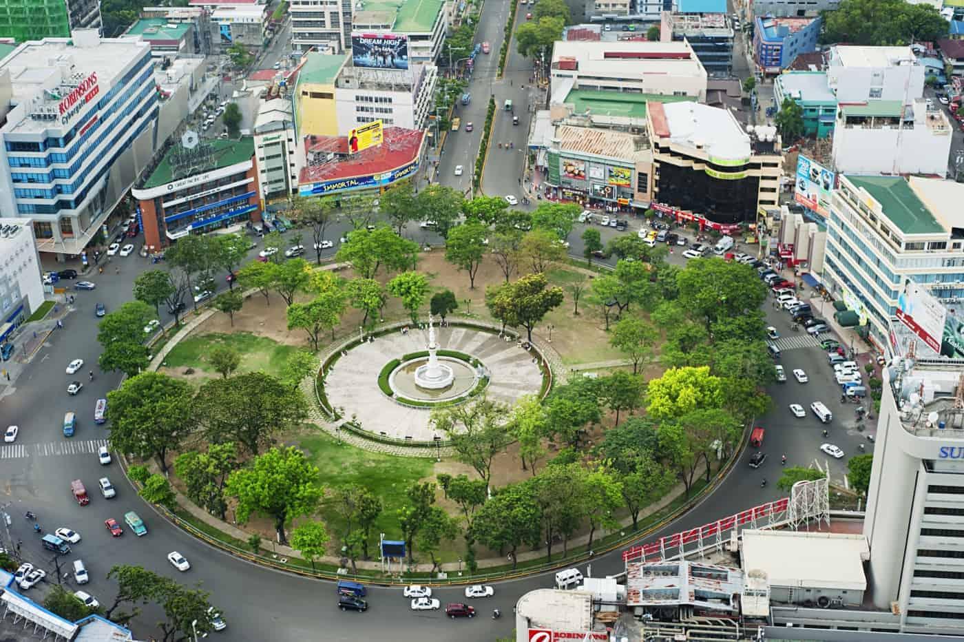 Fuente Osmena Circle in Cebu City