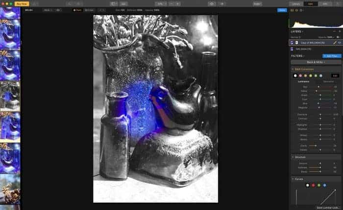 Luminar 3 masking preview