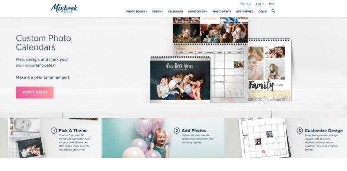 Mixbook.com Custom Photo Calendars Review