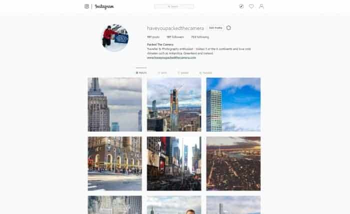 Photography goals for 2019 - Create a photography Instagram acount