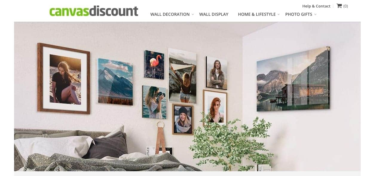 CanvasDiscount.com Wall Display Canvases - a Review