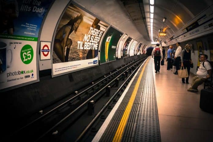 Best Places to Photograph in London - London Underground