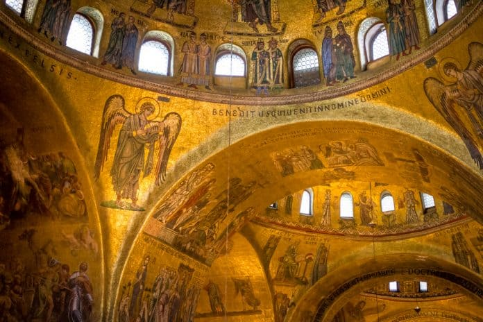 St. Mark's Basilica photo in venice italy