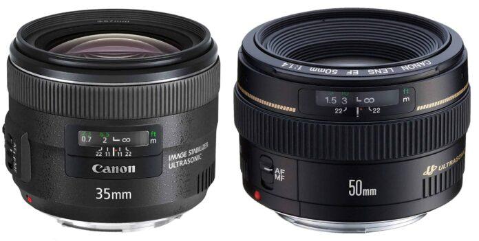50mm lens vs 35mm lens