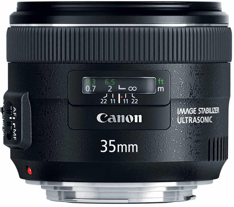 35mm lens for handholding