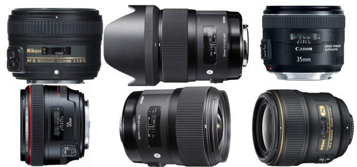 50mm vs 35mm lenses