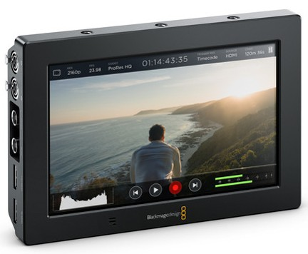 blackmagic field monitor features