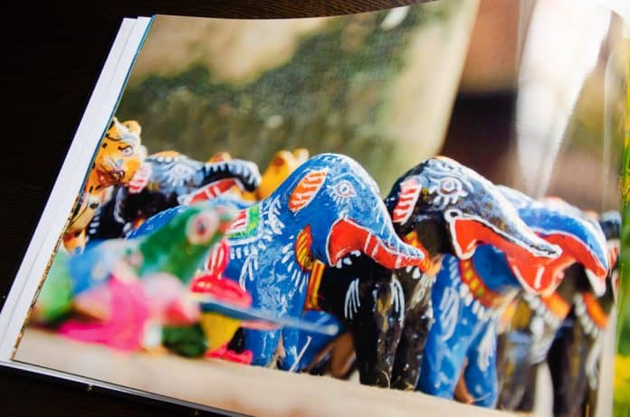 vistaprint photo book colorful