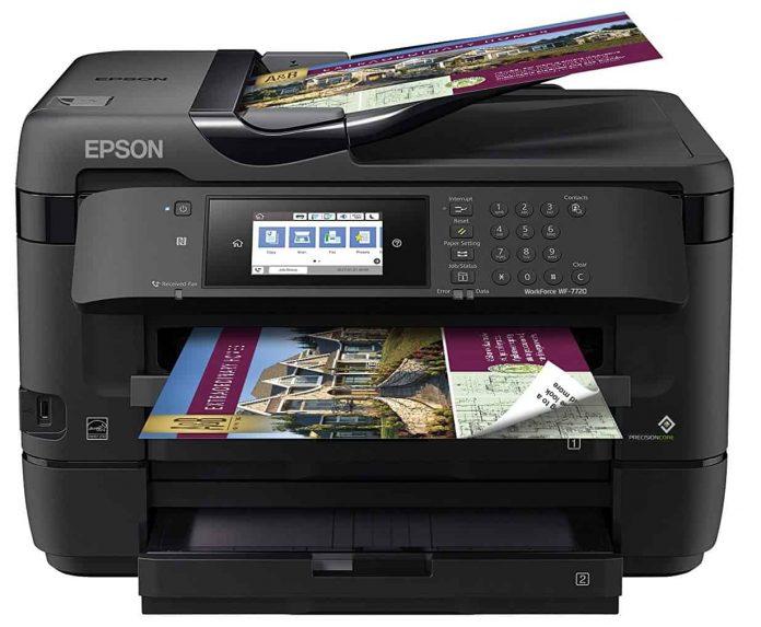 epson workforce 7720 wireless photo printer
