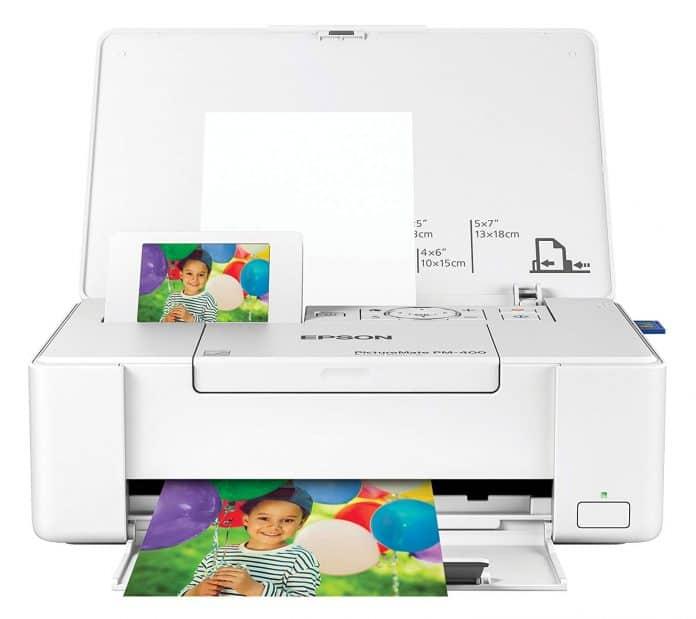 Epson PictureMate PM-400 Wireless Compact Color Photo Printer best photo printer under $200