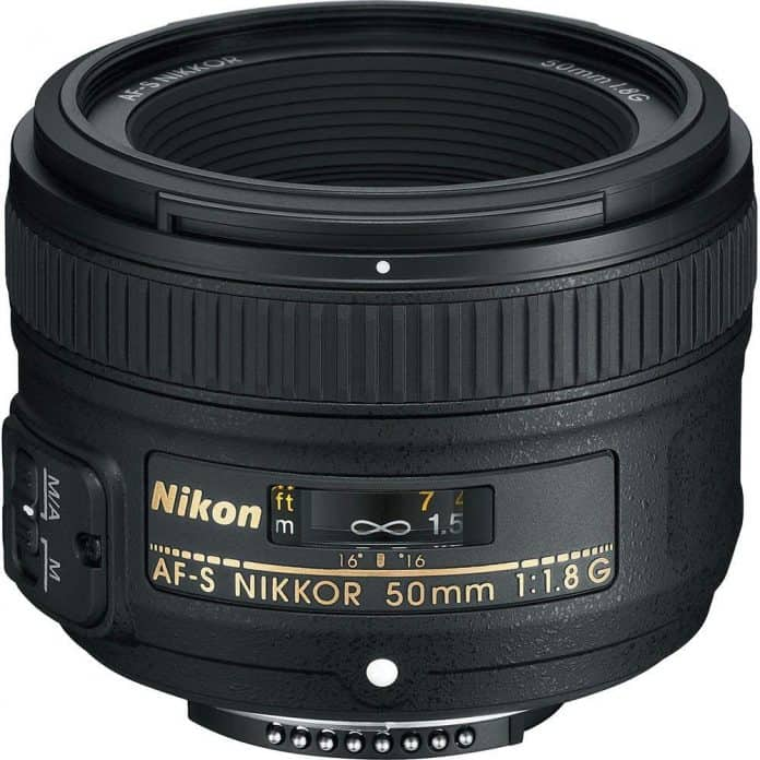 Nikon 50mm f/1.8G best budget portrait lens