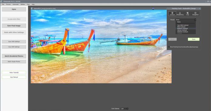 Photomatix Pro 6.1 Export