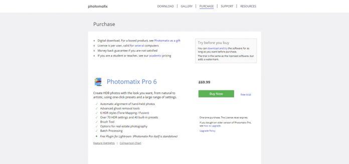 photomatix vs aurora HDR software