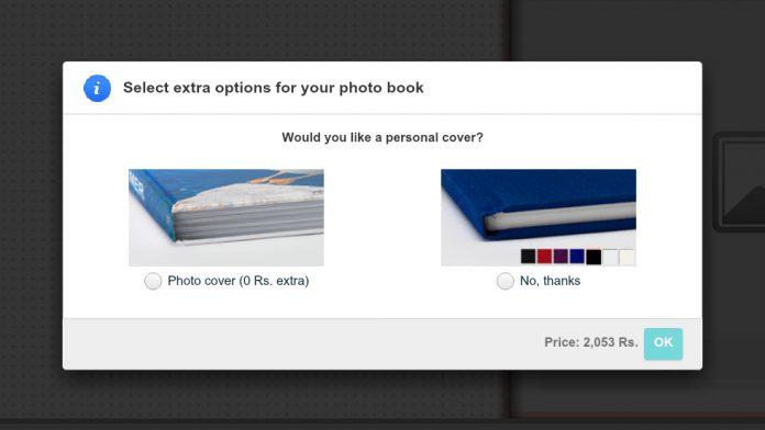 vistaprint photo book