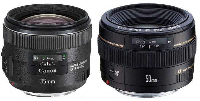 DSLR lenses for portraits