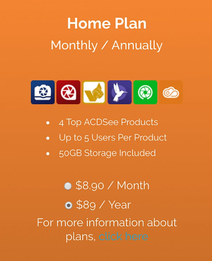 Cost ACDSee Photo Studio