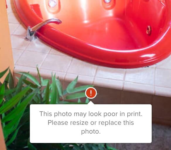 photo printing errors