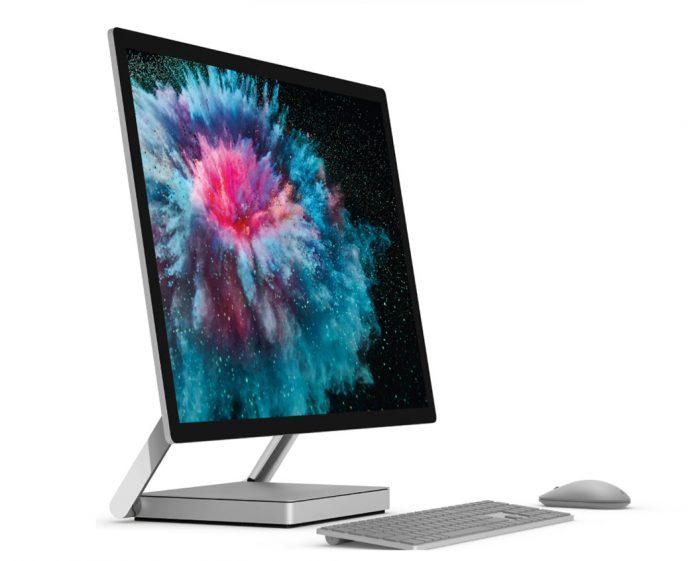 Microsoft Surface Studio 2 Side View
