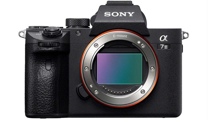 Sony Alpha a7 III front view