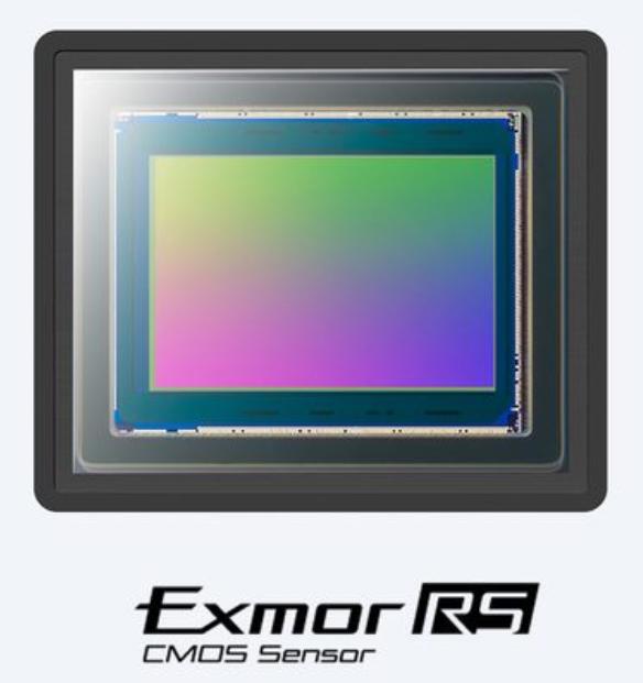 Exmor RS Sony CMOS Sensor