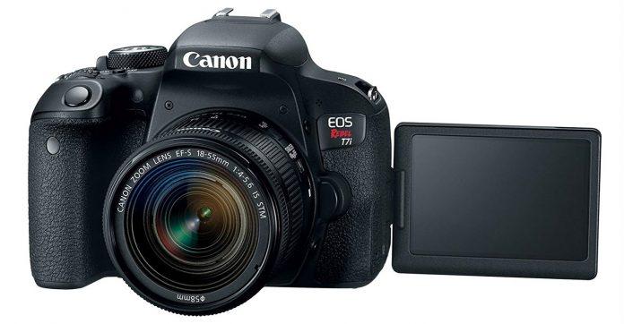 Canon EOS 7Ti Vari-Angle Screen