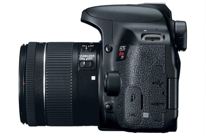 Canon Rebel 7Ti Side View