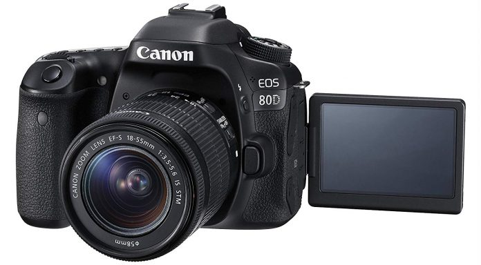 Canon EOS 80D Vari-Angle Screen