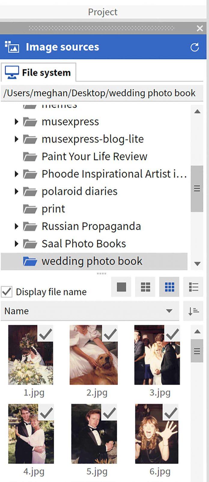 Saal upload files