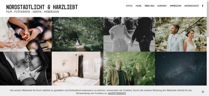 Adobe Portfolio sample site