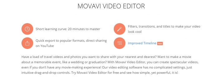 Movavi features best slideshow maker