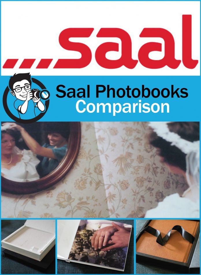 Saal photobooks comparison