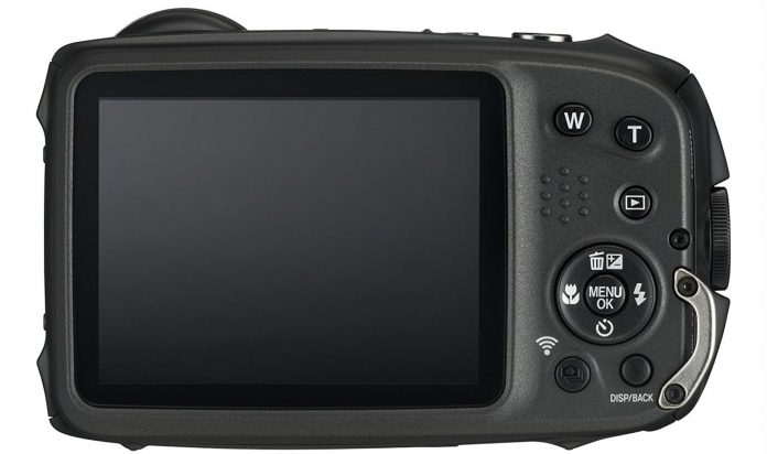 finepix xp130 rear