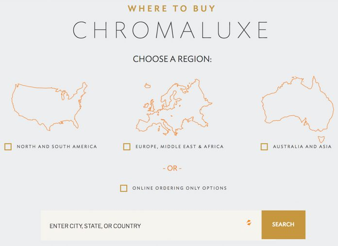 Chromaluxe ordering options