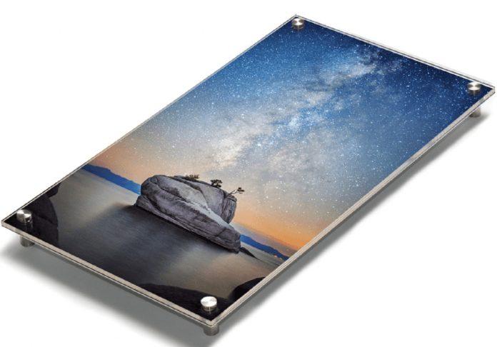 Acrylic coated Bay Photo print