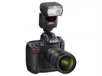 nikon flashgun mounted