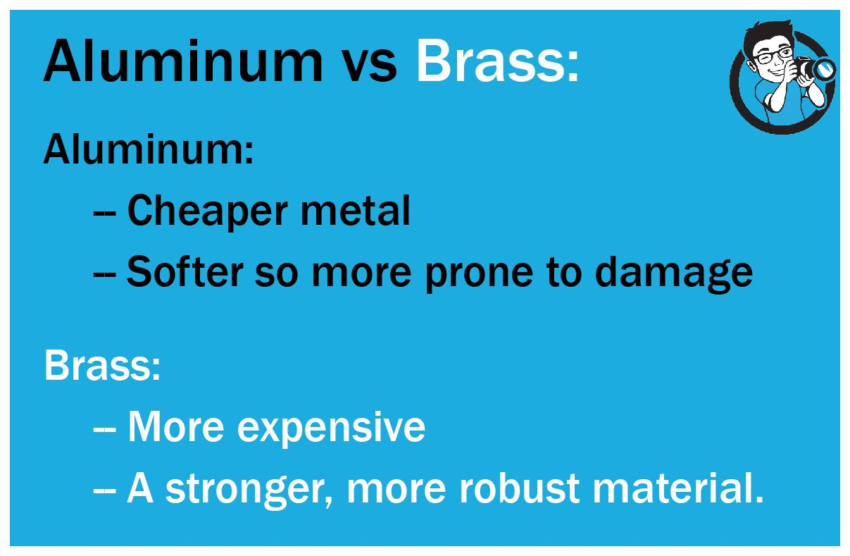 Aluminum vs Brass