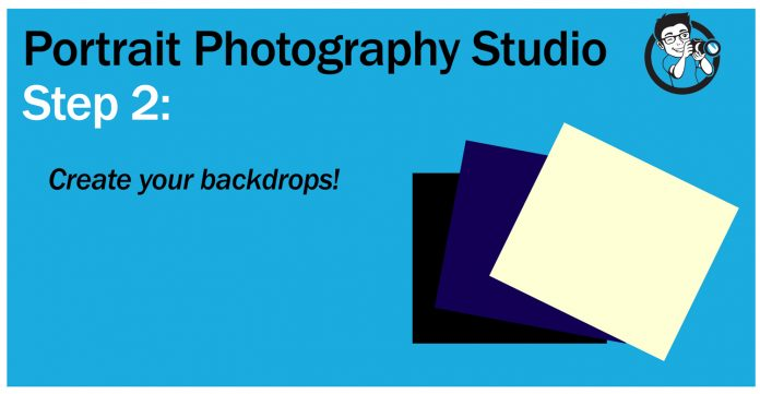 step 2 choose and create backdrops