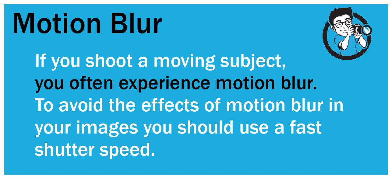 How to shoot sharp portraits motion blur